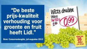 Lidl 'best value' for produce in Holland