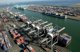 Port of LA on track for record breaking season