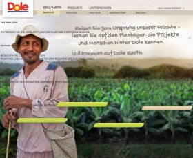 Dole Europe launches Dole Earth site