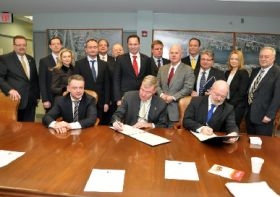 Port of Philadelphia in Lithuanian MOU