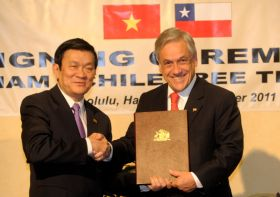 Chile and Vietnam sign FTA deal