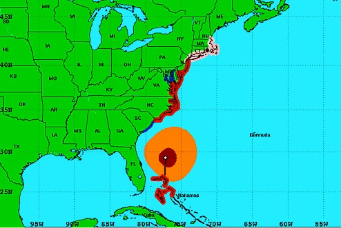 US East Coast ports prepare for Irene