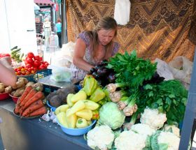 Vegetable prices fall in Ukraine