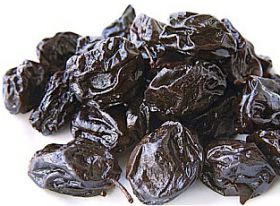 California prunes slip back