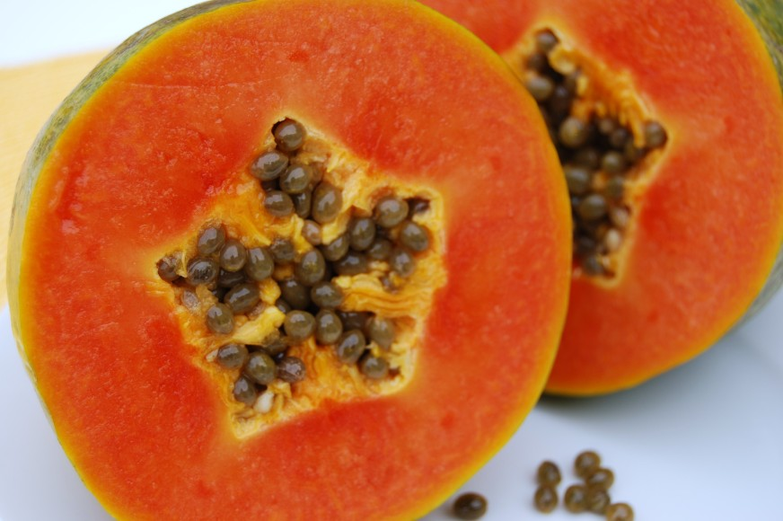 Study on papaya