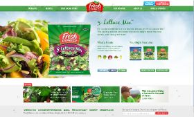 Website redesign for Fresh Express