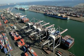 Cargo boom at Port of LA