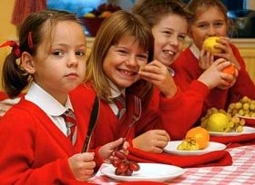 School break times 'affect fruit and veg consumption'