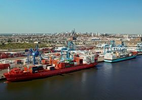 PhilaPort container volumes grow