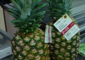 Price war stirs up pineapple market