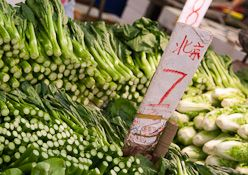 Chinese vegetable prices spike