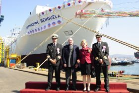 Safmarine christens the Benguela
