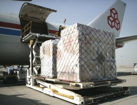 Airfreight shows slight growth