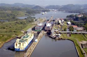 Panama Canal set for 'record year'