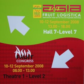 Asia Fruit Logistica set for 2009 growth