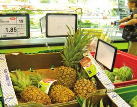 Guatemala pineapples find favour