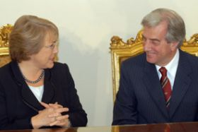 Chile-Uruguay ink bilateral agreements
