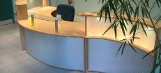 Vision Modular Reception Desks