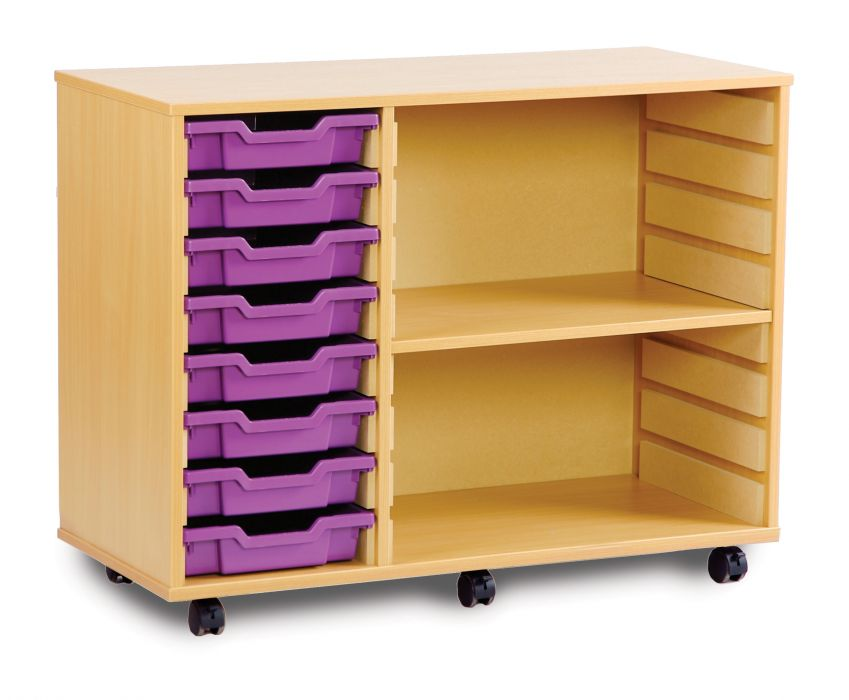 tray and shelving units office reality