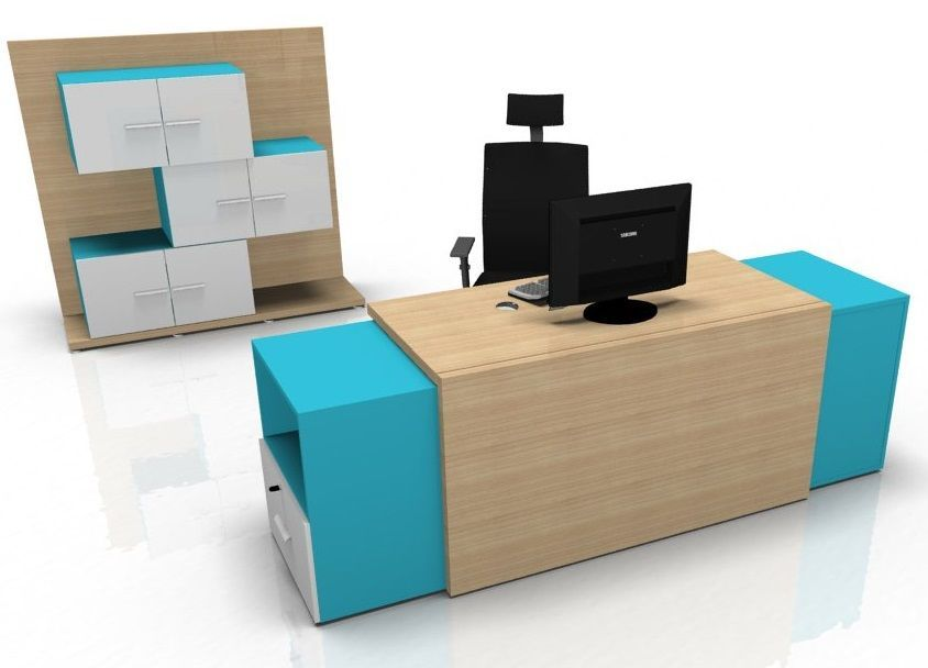 Versa Reception Desk 2 fice Reality