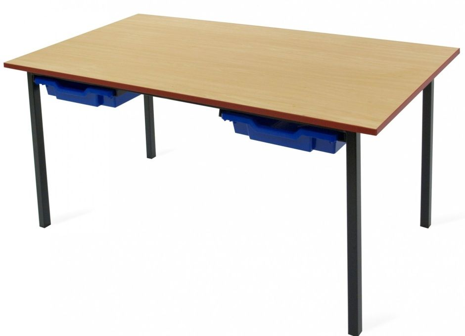 Adv classroom desk with trays office reality for Tables and desks in the classroom