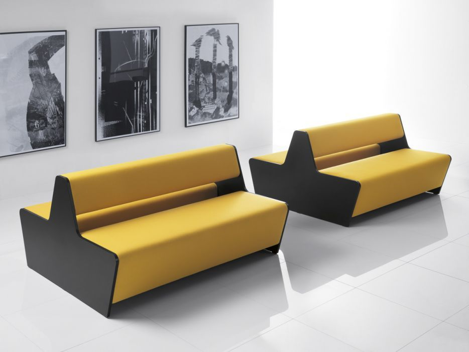 Two Sided Module Sofa Magnitude Office Reality