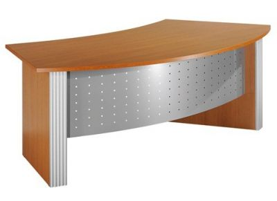Direction Style Executive Curved Desk - Office Reality