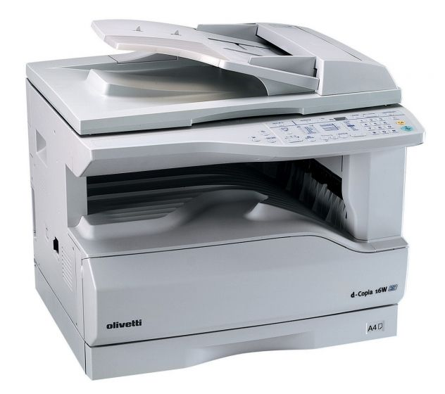 Olivetti d-Copia 500MF Copier Driver Windows 2000/NT Multilanguage