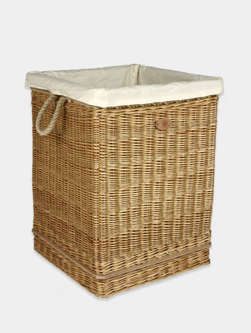 laundry basket on wheels products somerset willow england. Black Bedroom Furniture Sets. Home Design Ideas