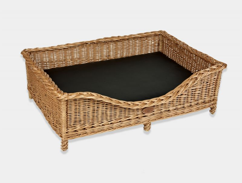 Wicker Dog Bed Small