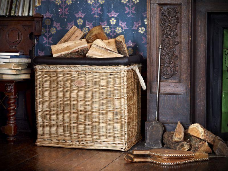 balloon log basket products somerset willow england. Black Bedroom Furniture Sets. Home Design Ideas