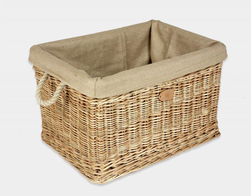 rectangular wicker log basket products somerset willow. Black Bedroom Furniture Sets. Home Design Ideas