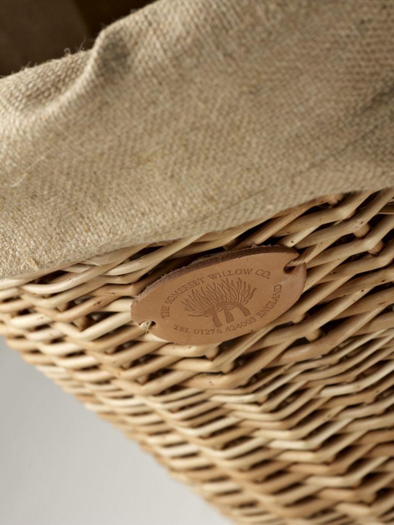 Willow Basket Weaving Somerset : Wicker log basket products somerset willow england