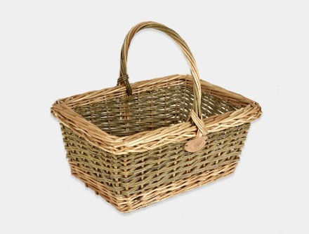 English Square Shopping Basket