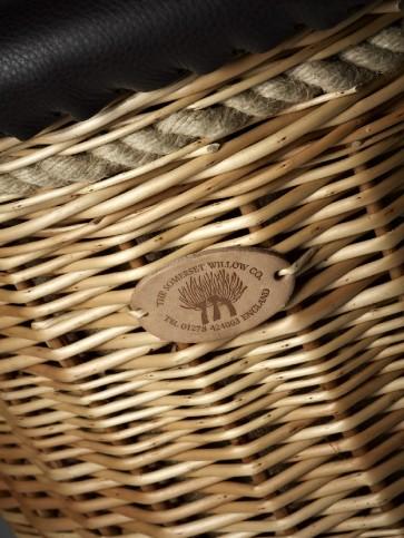 Round Balloon Log Basket
