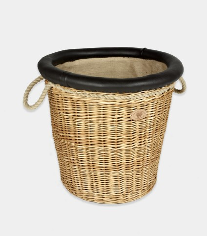 Round Balloon Log Basket