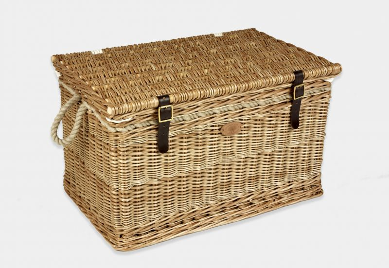 Wicker storage trunk products somerset willow england for Storage charlton