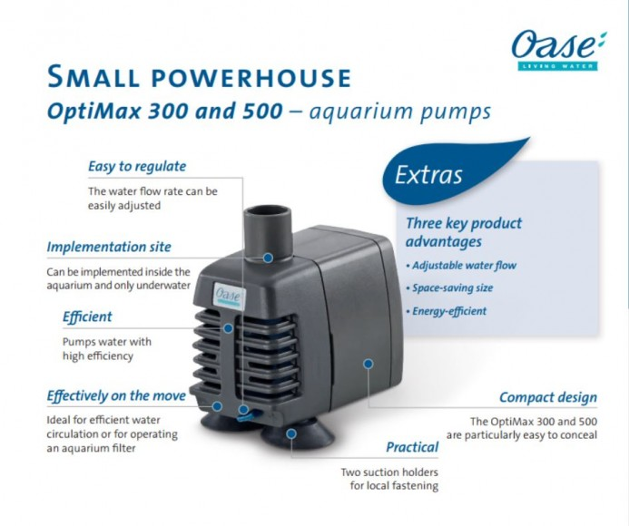 Optimax 300-500 descrption