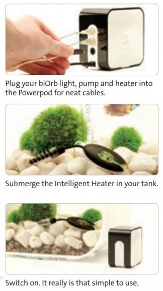 BiOrb Intelligent Heater Function
