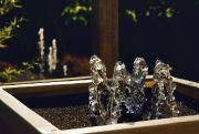 Bubble jet fountains