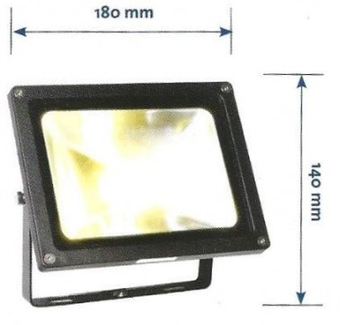 Floodlight Dimensions