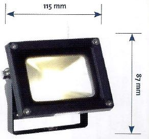 15 Watt Floodlight Dimensions