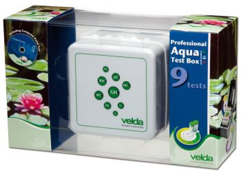 Professional Aqua Test Kit - 9 water tests