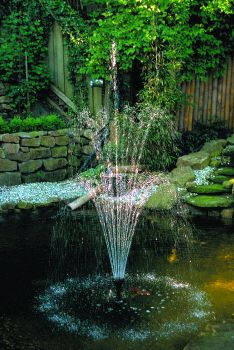 3 Tier Fountain Nozzle 31 Water Jets