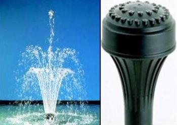 3 Tier Fountain Nozzle 37 Water Jets