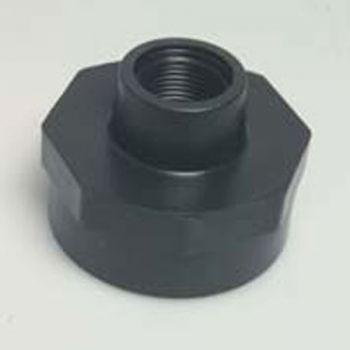 "PP Reducing Socket 1 1/2"" BSPF x 1"" BSPF"