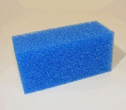 Biotec 12 Screenmatic single blue filter foam