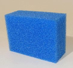 Biotec 18/36 single blue filter foam