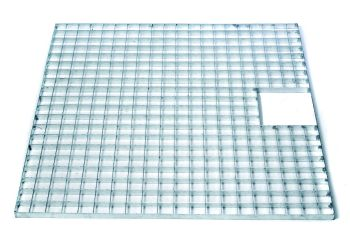 140cm x 140cm Steel Grid & Hatch