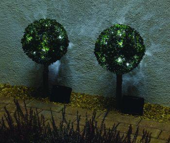 Baytree Solar Garden Lights - Set of 2
